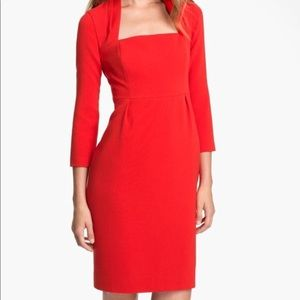 NWT Kate Spade Sheilla Sheath Dress in Red